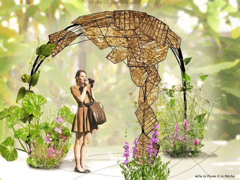 Expositions v nements de la plume a la b che sarah for Exposition jardin paris 2016